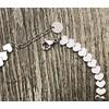 Bracciale cuori silver dettagli