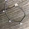 Bracciale silver con zirconi  dettaglio