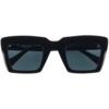 Occhiale da sole giorgio nannini gemma 110 nero