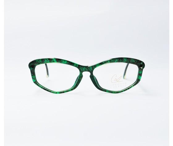 frontale christian Lacroix vintage verde