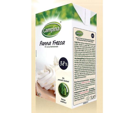 """Panna fresca """"Campina"""" 38%  lt. 1"""