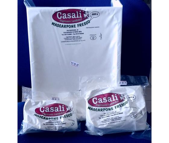 "Mascarpone fresco ""Casali""  gr. 500"