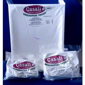 "Mascarpone fresco ""Casali""  kg. 5"