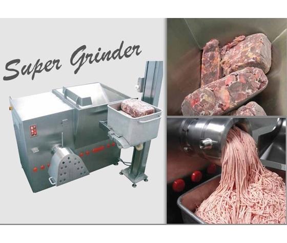 Tritacarne LASKA WWB 200 SuperGrinder per blocchi di carne congelata e carne fresca