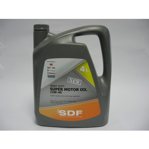 SDF SUPER MOTOR OIL 15W-40 LITRI 4
