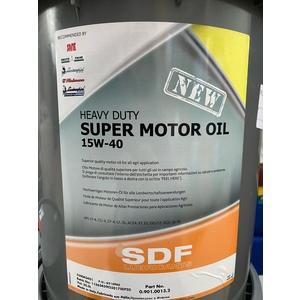 SDF SUPER MOTOR OIL 15W/40 LITRI 20