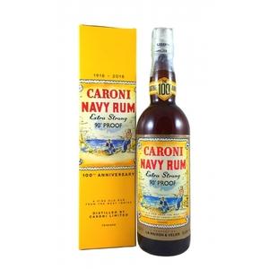 RUM CARONI NAVY RUM 90 PROOF 51.4% VOL CL.70