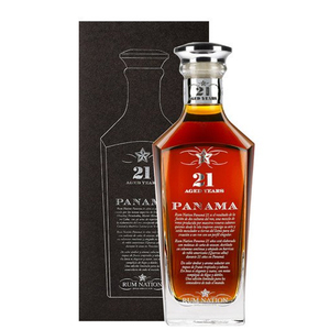 RUM NATION PANAMA 21 ANNI CL 70 CON COFANETTO