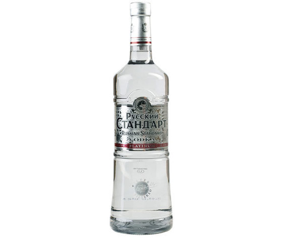 VODKA STANDARD RUSSIAN PLATINUM CL 70 ALC. 40%