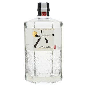 GIN ROKU DISTILLED IN JAPAN  CL 70 ALC. 43%