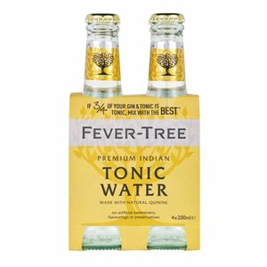FEVER TREE PREMIUM INDIAN TONIC WATER CL.20 CONF. x 4 BOT