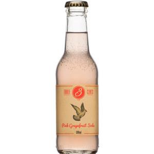 THREE CENTS PINK GRAPEFRUIT TONIC-SODA CL20