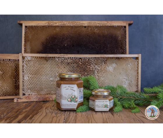 crema di nocciole e miele