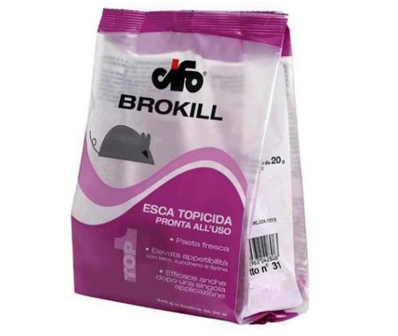 Brokill esca topicida pronta all'uso