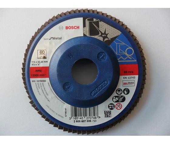 Disco lamellare 115x22 gr.60
