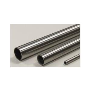 tubo inox 304 diam.42,4x2x6000mm satin. grana 240