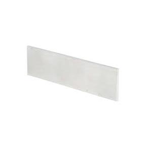 piatto alluminio 6060 t6 40x10 ( 1.084kg/mt )