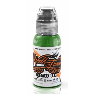 EVERGLADES GREEN WORLD FAMOUS INK 30 ML