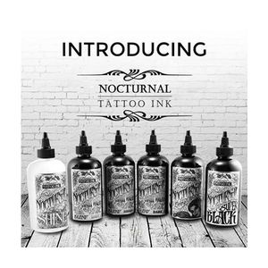 NOCTURNAL TATTOO INK COMPLETO SET 120 ML