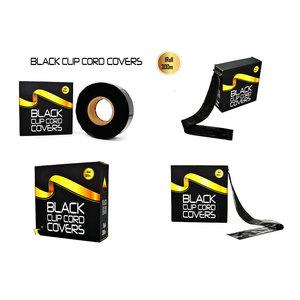 ROTOLO COPRI CLIP CORD BLACK 300 METRI
