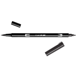 TOMBOW DUAL BRUSH PENNARELLI BLACK