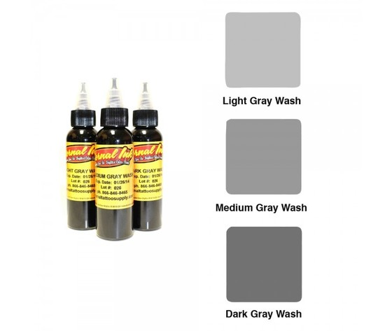 ETERNAL INK LIGHT GRAY WASH 60 ML