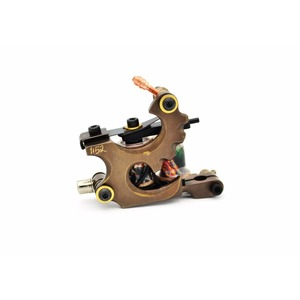 BOBINA GOLD BRASS TATTOO MACHINE RCA