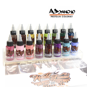 A.D. PANCHO PRO TEAM COLOR SET WORLD FAMOUS INK