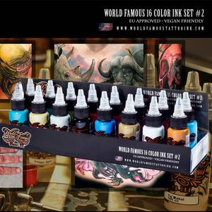 WORLD FAMOUS 16 COLOR INK SET #2