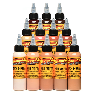 Eternal Rich Pineda's Flesh to Death 12 Colors Tattoo Ink Set