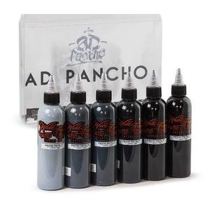 A.D PANCHO PASTEL GREY SET WORLD FAMOUS INK 125 ML