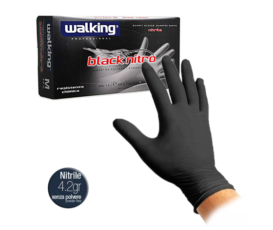 GUANTI WALKING BLACK NITRO MISURA L