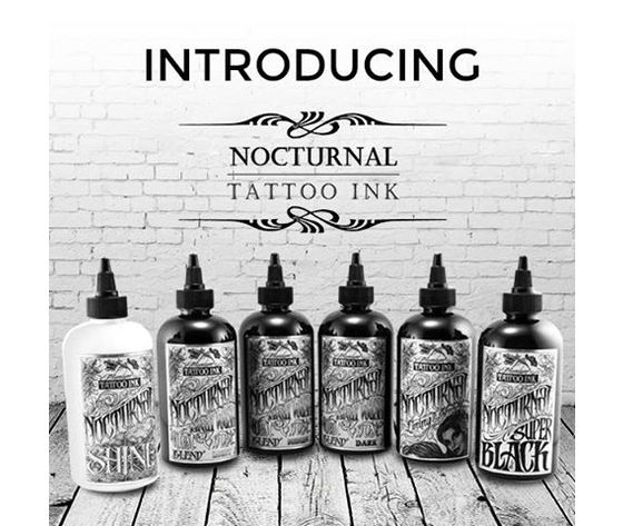 NOCTURNAL TATTOO INK COMPLETO SET 30 ML