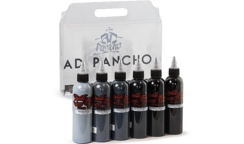 Ad pancho pastel grey set