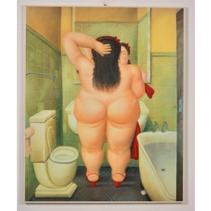Donna Che si pettina Botero