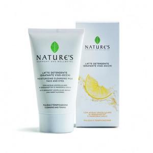 Latte detergente idratante viso occhi 150 ml Nature's