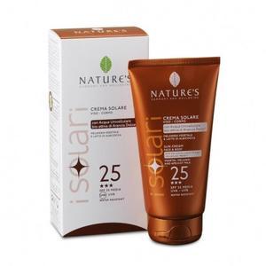 Crema solare viso corpo IR sun spf 25 Nature's