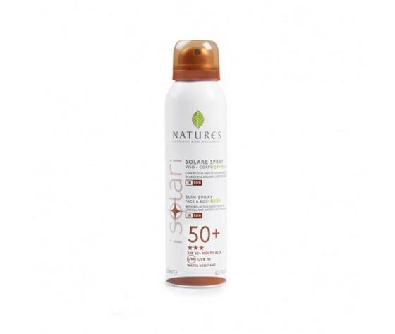 Spray solare bimbi viso-corpo IR sun spf 50+ Nature's