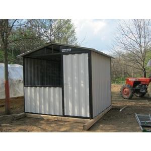 Box in lamiera e containers zincati