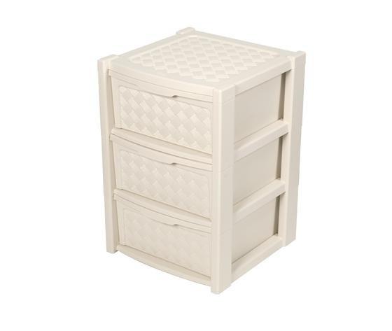 Cassettiera arianna 3 cassetti beige