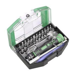 Kwb 119100 Set 30 pz mini cacciaviti e attrezzi per console e smartphone