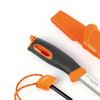 Light my fire lmf fk bk coltello sportivo colore arancio a lama fissa con alloggio per accendifuoco firesteel 1