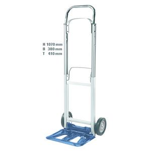 einhell carrello richiudibile alluminio acciaio per trasporto materiali bt-ht 90