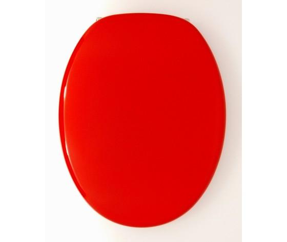 sedile copriwater universale rosso