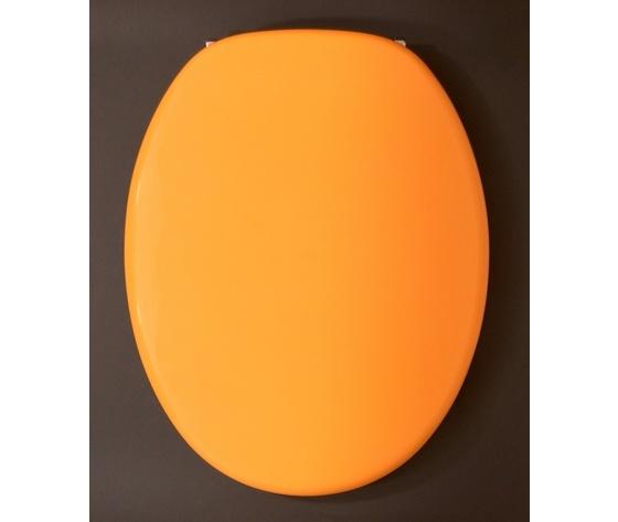 sedile copriwater universale giallo