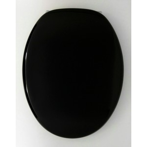 sedile copriwater universale nero