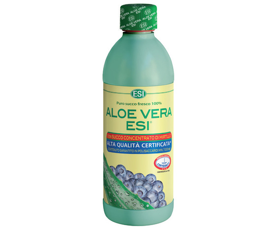 ALOE VERA SUCCO con MIRTILLO 500 ml