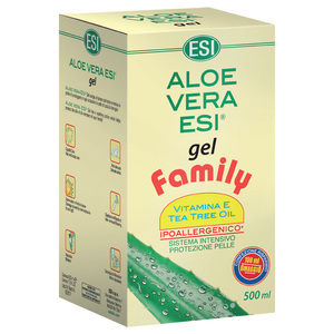 ALOE VERA GEL VIT. E+TEA TREE FAMILY