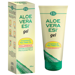 ALOE VERA GEL VIT. E+TEA TREE 200 ml