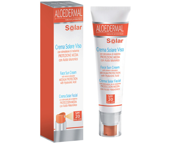 ALOEDERMAL® SOLAR CREMA VISO SPF 20